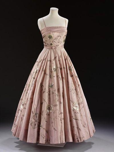 Worth London dress 1955